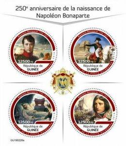 Z08 IMPERF GU190228a GUINEA (Guinee) 2019 Napoleon Bonaparte MNH ** Postfrisch