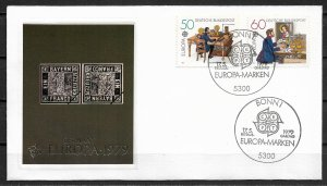 1979 Germany 1291-2 Europa C/S FDC