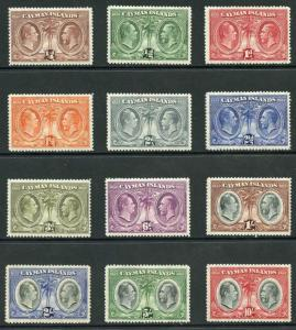 Cayman Islands SG84/95 Justice and Vestry Set of 12 M/Mint