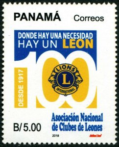 HERRICKSTAMP NEW ISSUES PANAMA Sc.# 970 Lions Club