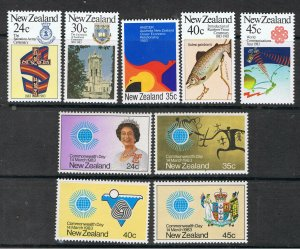 NEW ZEALAND 1983 COMMONWEALTH DAY & TROUT