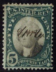 U.S. REV. PROPRIETARY RB5a  Used (ID # 77029)