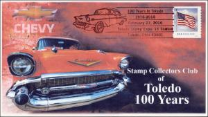 2016, Toledo Stamp Club , BW Pictorial, 100 Years, February 27, 16-047