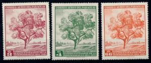 [65186] Paraguay 1965 Flora Trees Baumen Airmail Set MNH