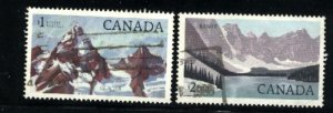 Can #934,936   -1 used VF  PD