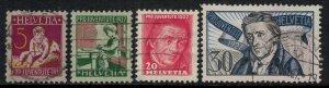 Switzerland #B41-4  CV $9.30