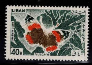 LEBANON Scott C429 Red Admiral Butterfly MNH** 1964