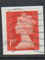 GB QE II Machin SG U2958a - 1st vermillion  - date code M13L - Source  none