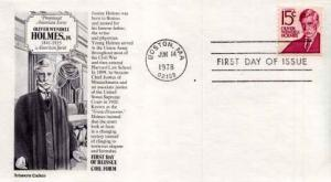 United States, First Day Cover, Massachusetts