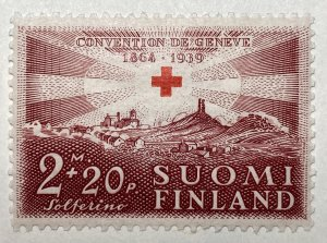 AlexStamps FINLAND #B37 FVF Mint