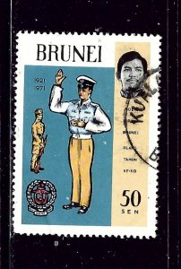 Brunei 167 Used 1971 issue