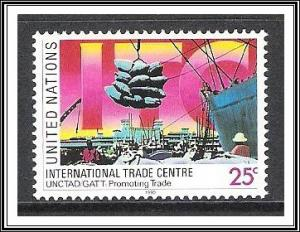 UN New York #572 Trade Center MNH
