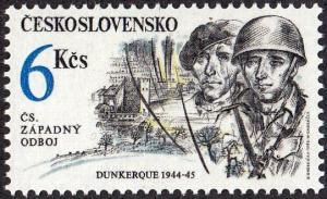 Czechoslovakia #2860 MNH Capture of Dukirk,1992