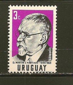 Uruguay 648 Martinez MNH