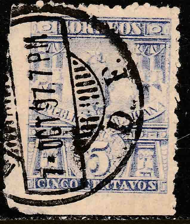 MEXICO 283 5cents MULITA UNWATERMARKED USED.F-VF. (173)