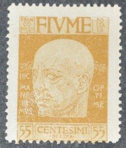 DYNAMITE Stamps: Fiume Scott #94 – MINT hr
