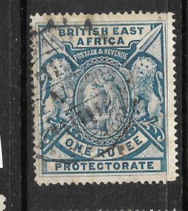 BRITISH EAST AFRICA 1897-03  1r   QV   FU  SG 92a
