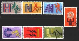 Cuba. 1972. 1790-96. Munich Summer Olympic Games. USED.
