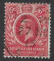 East Africa & Uganda Protectorates  Scott 42  Used
