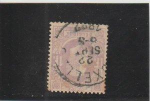 Belgium  Scott#  36  Used  (1870 King Leopold)