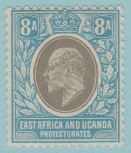 East Africa & Uganda 8 Postfrisch mit Scharnier Og Kein Fehler Extra Fein