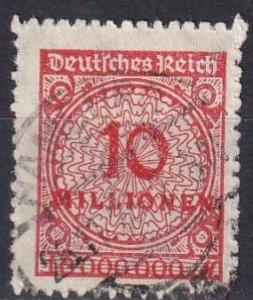 Germany #301  F-VF Used  CV $45.00  (Z4833)