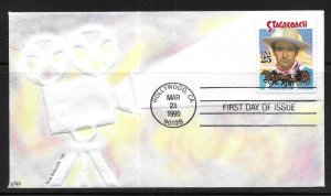 USA 2448 Stagecoach Kim Brouch First Day Cover FDC (z2)
