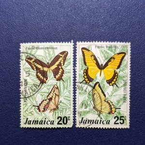 Jamaica 399-400 VF, CV $3.10