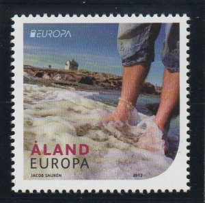 Aland Finland Sc 330 2012 Europa stamp mint NH