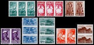 South Africa Scott 90-97 (1942-43) Mint LH VF Complete Set, CV $49.70 C