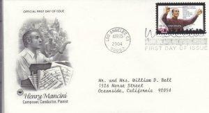 2004, Honoring Henry Mancini, PCS, FDC (E9049)