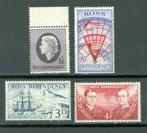 NEW ZEALAND ROSS DEP. #L1-L4...SET...3MNH...$12.00