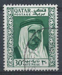 Qatar 1961 - 30np - SG30 used