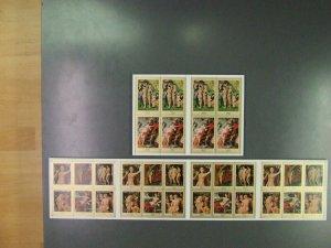 Ajman Manama 768-775 100 Set IN Arch / MNH Michelwert