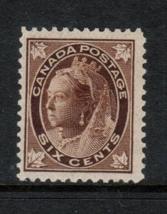 Canada #71 Never Hinged Mint **With Certificate**