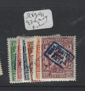 HAITI   (PP0801B)   SC 82-8, 96-100   9-91, 93-6   MOG