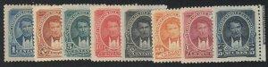Ecuador - 1895 - SC 47-54 - H - Complete set