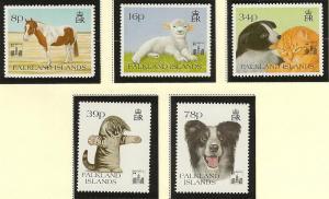 Falkland Islands  MNH sc 588 - 592