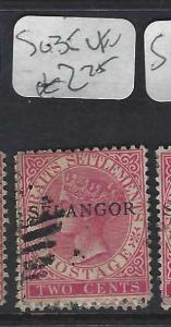 MALAYA SELANGOR (P0702B)  QV  2C   SG 35   VFU