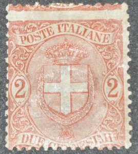 DYNAMITE Stamps: Italy Scott #74 – UNUSED