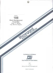 SHOWGARD BLACK MOUNTS 265/188 (5) RETAIL PRICE $16.95