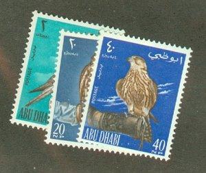 A: Abu Dhabi 12-14 MNH CV $59.50