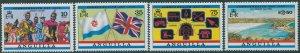 Anguilla 1983 SG544-547 Commonwealth Day set MNH