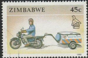 Zimbabwe, #629 Used From 1990