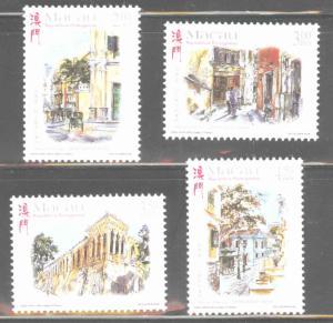 Macau Macao Scott 957-960 MNH** 1998 Art set