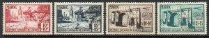 French Morocco: 1950 Army Welfare set (4) SG 383-6 mint