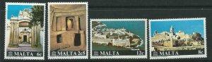MALTA SG641/4 1980 INTERNATIONAL RESTORATION OF MALTESE MONUMENTS CAMPAIGN MNH