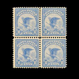 momen: US Stamps #F1 Block of 4 Mint OG NH CV $700 F/VF