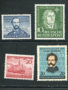 Germany # 688-90 Mint VF NH