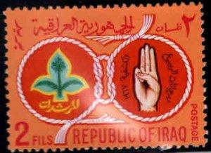 IRAQ Scott 457 MH* Scout  stamp